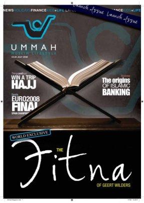 Ummah Magazine cover 1