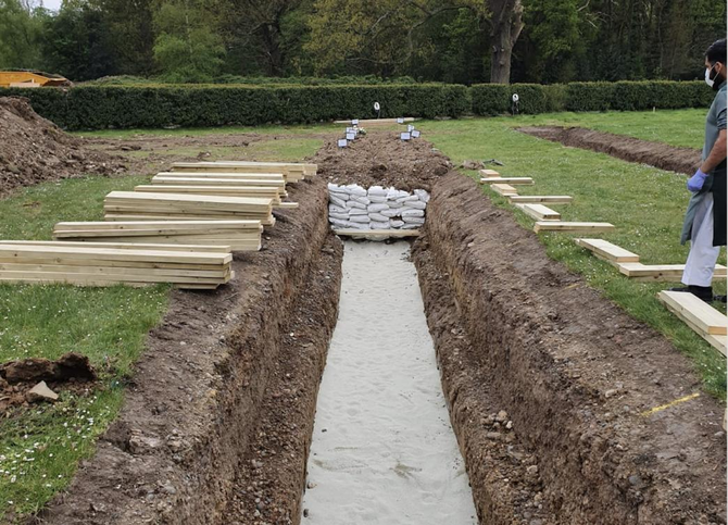 UK cemetery adopts new way of burying Muslims amid rising coronavirus deaths