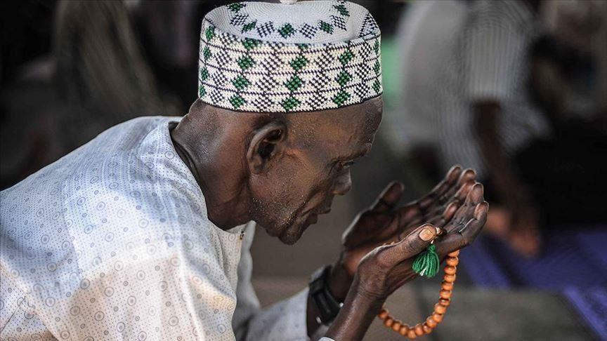 Eid payer in Nigeria