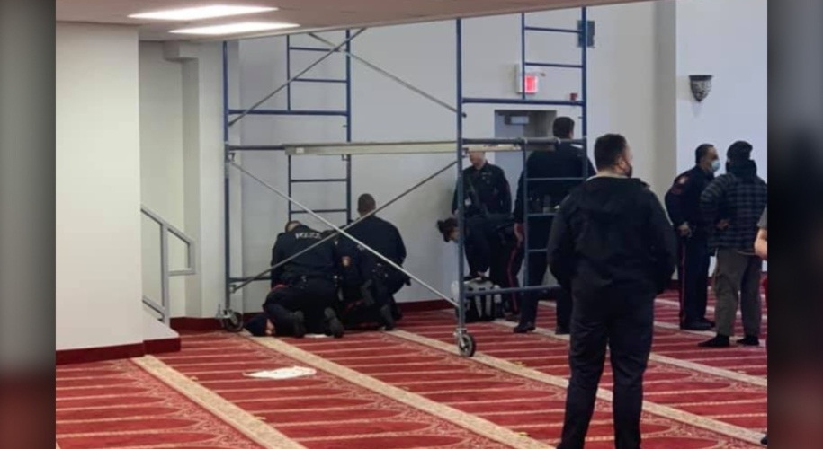 Man arrested for Knife attack inside Calgary Mosque Attack